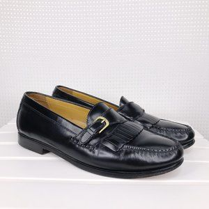 Cole Haan Mens Loafers Size 10 M Black Leather